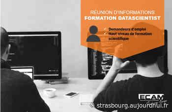 """Réunion d'informations : Formation """"Data Scientist"""" - ECAM Strasbourg-Europe, Schiltigheim, 67300 - Sortir à Strasbourg - Le Parisien Etudiant"""