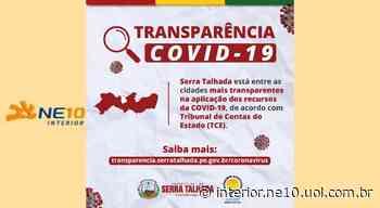 Serra Talhada comemora posição no ranking de transparência da covid-19 do TCE-PE - NE10