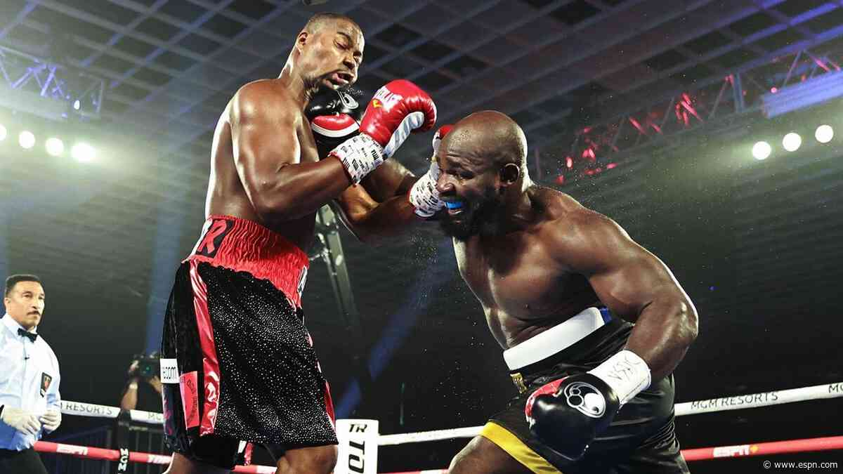 Takam bests Forrest in clash of heavyweights
