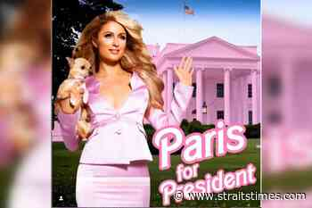 After Kanye West, Paris Hilton claims she will run for US president - The Straits Times