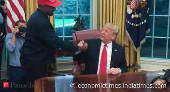 Trump responds to Kanye West's White House bid, says rapper will have to view it as a trial run - Economic Times