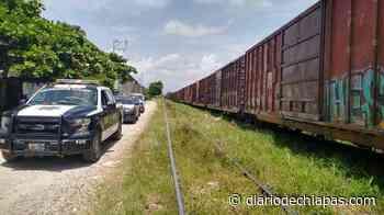 Operativo antipandilla en Palenque - Diario de Chiapas