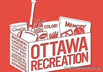 Update on recreation and cultural programs - facility and park rentals - StittsvilleCentral.ca