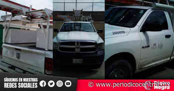 Amagan a personal de la CFE y les roban camioneta en Tecamachalco - Periodico Central
