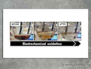 Ingenieure verwenden Elektrizität, um giftiges Wasser zu reinigen