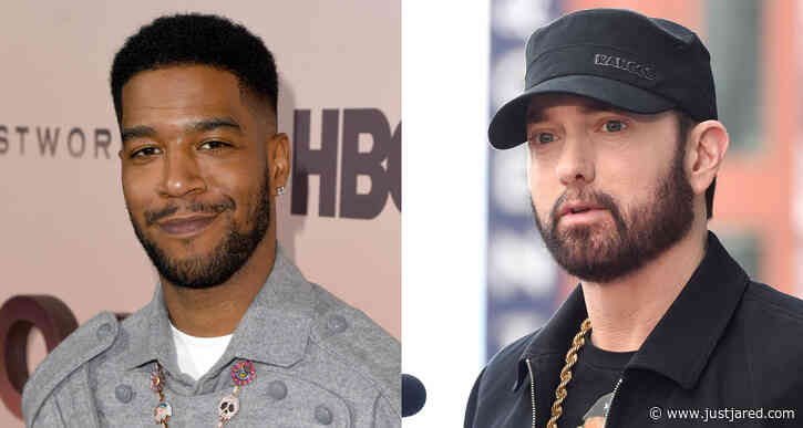 Kid Cudi & Eminem Team Up on New Song 'The Adventures of Moon Man and Slim Shady' - Listen Now!