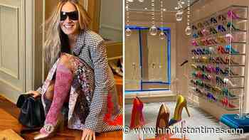 Masked Sarah Jessica Parker channels inner Carrie Bradshaw to help fans shop for shoes amid Covid-19 - Hindustan Times