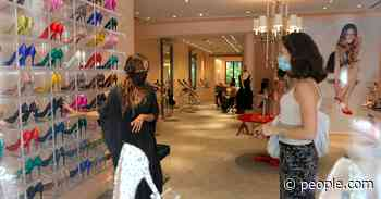 Sarah Jessica Parker Waits on Customers as She Opens New SJP Collection Flagship Store: 'Pinch Me!' - PEOPLE