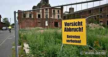 Auf dem alten Howinol-Gelände in Krefeld-Uerdingen hat Abriss begonnen - Westdeutsche Zeitung