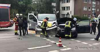 Unfall in Krefeld: 19-Jähriger schwer verletzt - Westdeutsche Zeitung