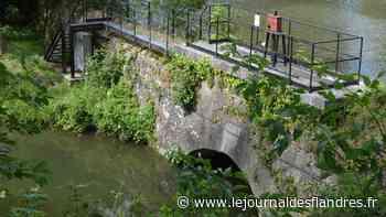Bergues : la vanne qui menace de céder et de faire des dégâts - Le Journal des Flandres