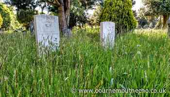 Anger at lack of care for service personnel graves in Bournemouth