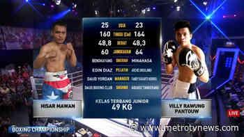 Boxing Championship - Hisar Mawan vs Villy Rawung - http://www.metrotvnews.com/