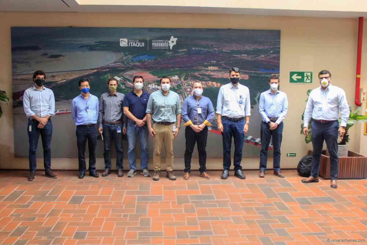 Nova operadora do Tegram visita o Porto do Itaqui - O Maranhense