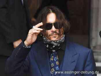 Kreuzverhör: Johnny Depp berichtet über seine komplizierte Ehe - esslinger-zeitung.de