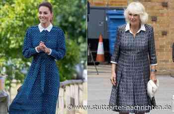 Kleider von Kate und Camilla - Herzoginnen spielen doppeltes Lottchen - Stuttgarter Nachrichten