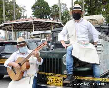 En Villamaría trovan, cantan y recogen mercados para familias de artistas - La Patria.com