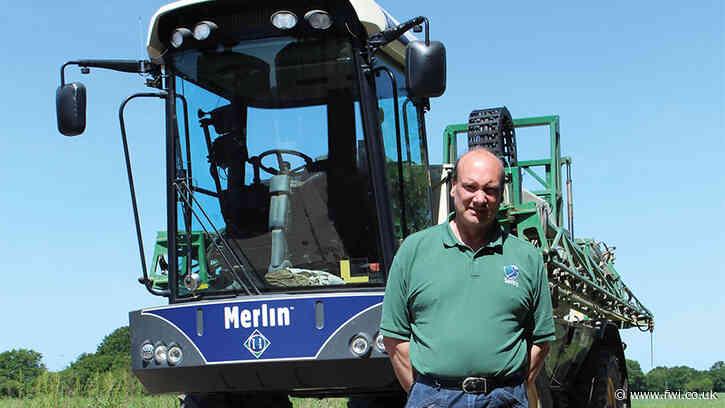 Driver's view: Peter Dennis' Househam Merlin sprayer