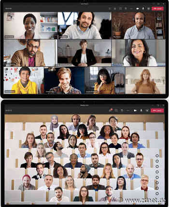 Videokonferenz im virtuellen Hörsaal: MS Teams jetzt mit Together Mode - ZDNet.de