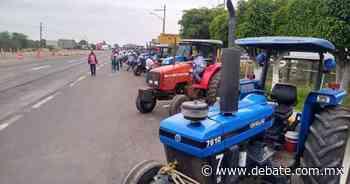 Agricultores se alistan para una manifestación de Angostura a Guamuchil - DEBATE