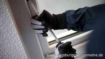 Kein Erfolg: Einbrecher gehen zweimal leer aus - Augsburger Allgemeine