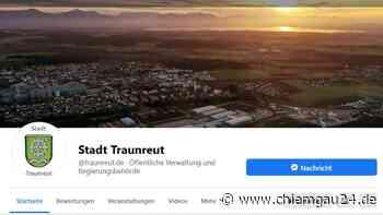 Traunreut: Stadt Traunreut - find us on facebook - chiemgau24.de