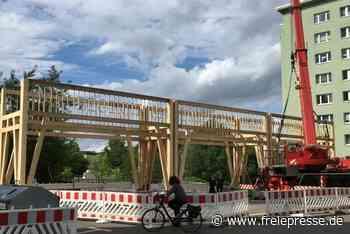 Niederländer errichten Stadttor an der Brückenstraße - Freie Presse