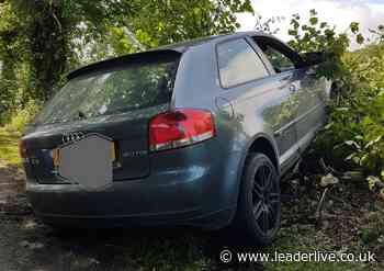 Four arrested after abandoning crashed car in Rhos-y-Madoc - LeaderLive