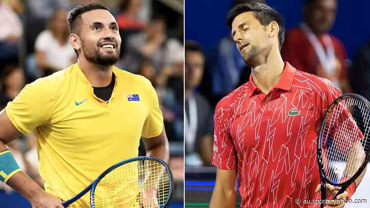 'You wouldn't last': Nick Kyrgios mocks Novak Djokovic with video - Yahoo Sport Australia