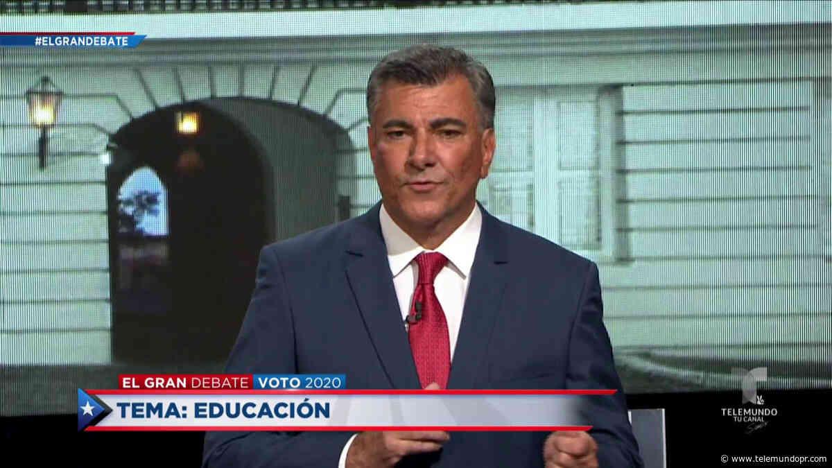 Charlie Delgado favorece una educación combinada entre reapertura y en línea - Telemundo Puerto Rico