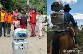 Profesor de Huancavelica crea a 'Kipi', robot que da clases en quechua a alumnos del VRAEM [VIDEO] - Caretas