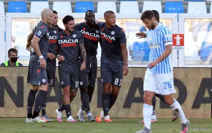 Spal-Udinese 0-3, gol e highlights: segnano De Paul, Okaka e Lasagna - Sky Sport