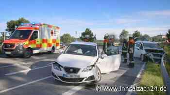 Ampfing: Unfall auf Ortsumfahrung / Staatsstraße 2091 bei Reibbruck fordert drei Verletzte - innsalzach24.de
