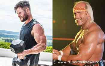 "Chris Hemsworth as Hulk Hogan, a paper ""very physical"" - D1SoftballNews.com"