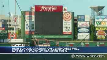 Graduation ceremonies not allowed at Frontier Field - WHEC