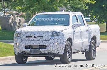 2021 Nissan Frontier spy shots - Motor Authority