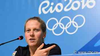Retired Olympic swimmer hopes her coming-out story helps normalize it for other female athletes