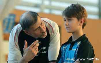 Tischtennis: Tischtennis-Coach mit viel Herzblut - Märkische Onlinezeitung