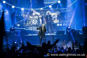 Queen's Roger Taylor sports scuba mask during rainy concert - Ealing Times