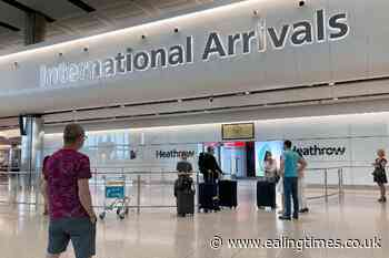 Quarantine rules for people entering UK to be relaxed - Ealing Times