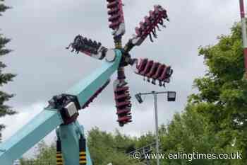 Thorpe Park ride reopens after technical problem leaves visitors 'dangling' - Ealing Times
