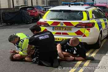'I can't breathe' police restraint incident referred to watchdog - Ealing Times