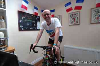 Cancer patient completing lockdown Tour de France to raise funds - Ealing Times