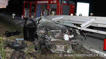 Schwerer Unfall auf-A95 München - Garmisch-Partenkirchen bei Penzberg - Reifenplatzer bei 200-kmh - rosenheim24.de