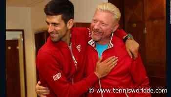 Becker: 'Es war eine sehr merkwürdige Atmosphäre zwischen Federer und Novak Djokovic' - Tennis World DE