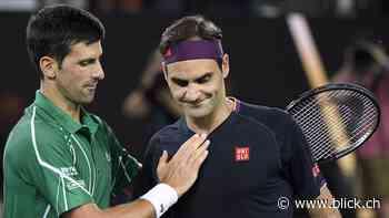 Tennis: So sehen die Serben Novak Djokovic und Roger Federer - BLICK.CH