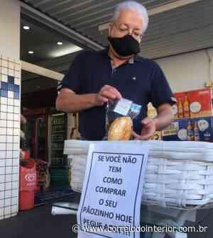 Empresário doa pães para famílias necessitadas em Dracena - Correio do Interior