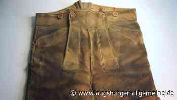 Mit dieser Lederhose wurde er ins KZ Dachau deportiert - Augsburger Allgemeine