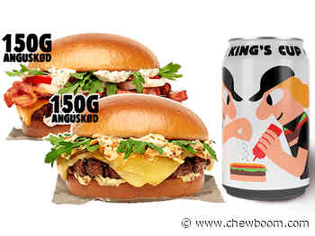 Burger King Pours New King's Cup Non-Alcoholic Beer Alongside New Gourmet Burgers In Sweden And Denmark - Chew Boom