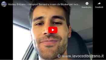 Hockey Bolzano: i campioni Bernard e Insam venerdì da Blooker per incontrare i tifosi - La Voce di Bolzano